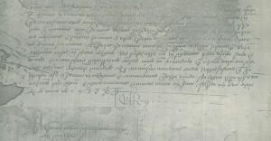 Carta de Juan II enviada a Cristóbal Colón donde le llama