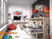beneficios cama abatibles habitación juvenil