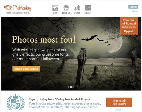 PICMonkey para crear contenido visual. Marketing de Contenidos