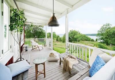 Casa de madera blanca y natural paperblog - Casas de madera natural ...