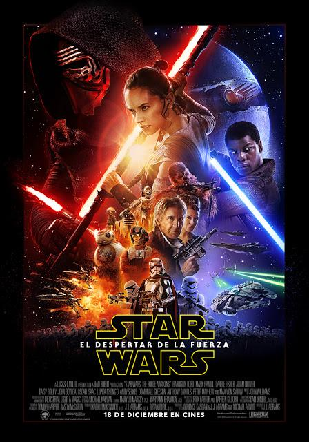 Poster final de 'Star Wars: El Despertar de la Fuerza'