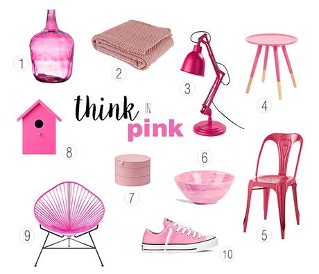 Think in pink - hoy todos contra el cancer de mama