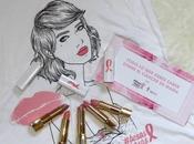 besos rosas Astor contra cáncer mama