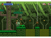 Aventuras plataformas dinosaurios pixelados simpático Dinocide