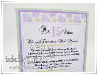 Invitación Mis 15 Años Primaveral Paperblog