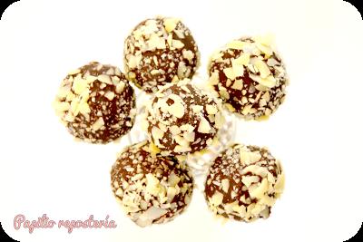 Cake Pops de almendras y chocolate