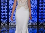 Reem Acra viste novia sofisticada femenina para otoño-invierno 2016 York Bridal Week