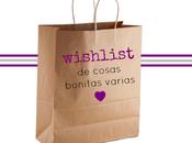 wishlist (cosas rebonitas)