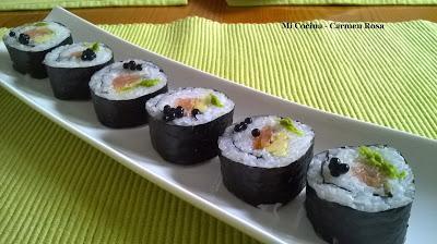 Como preparar arroz para hacer sushi y preparar maki sushi for Como hacer arroz para sushi