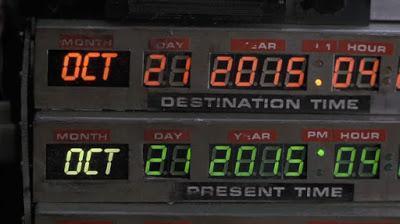 Hoy, 21 de octubre de 2015, es el día que Marty McFly viajó al futuro
