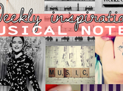 Weekly inspiration: musical notes