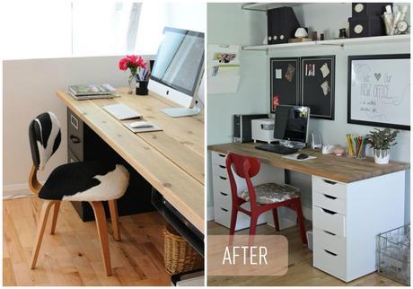 Diy escritorio paperblog - Tablero para escritorio ...