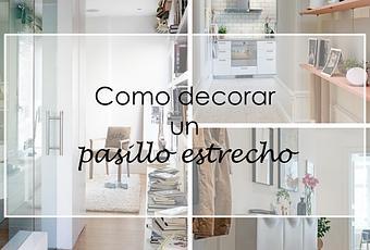 Como decorar un pasillo estrecho paperblog - Como decorar pasillos estrechos ...