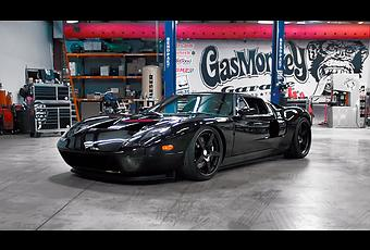 Ford Gt Stance Gas Monkey Garage Lo Hace Posible Paperblog