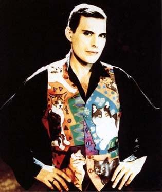 Freddie con chaleco gatuno
