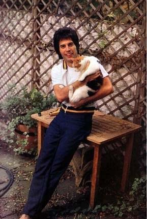 Freddie con Delilah