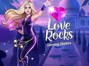 """Love Rocks"" nuevo videojuego Shakira"