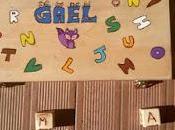 caja sensorial letras Gael