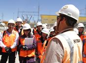 Estudiantes UNSAAC visitan mina Constancia