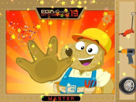 Final de pantalla de EGA Master Tool Game