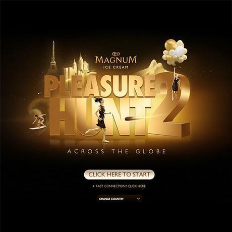 Magnum pleasure hunt across the globe