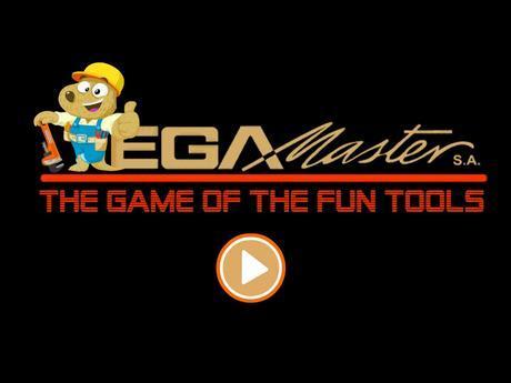 Pantalla de inicio de EGA Master Tool Game