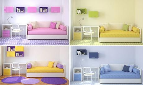 Combinar colores en una habitaci n juvenil paperblog - Combinar colores habitacion ...