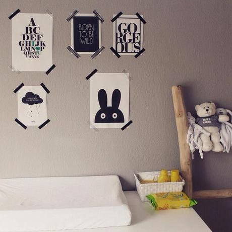 Ideas para colgar posters y fotos sin marco paperblog - Colgar espejo pared sin marco ...