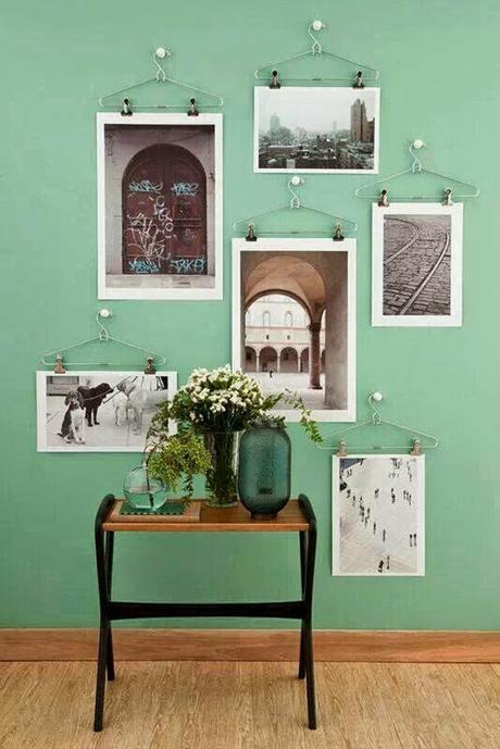Ideas para colgar posters y fotos sin marco paperblog - Marcos de fotos para colgar ...
