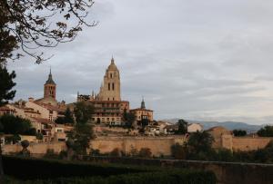 Segovia desde la zona de su Alcázar. Fotografía Mari Trini Giner