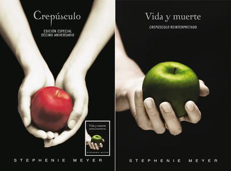Portada española de VIDA Y MUERTE, Stephenie Meyer (Crepúsculo Reinterpretado)