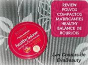 Review Polvos Compactos Matificantes Healthy Balance Bourjois.