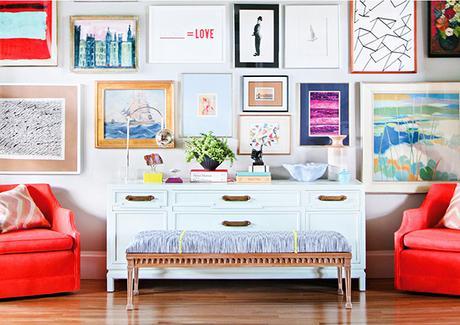 C mo colocar bien los cuadros en la pared paperblog - Como colocar cuadros ...