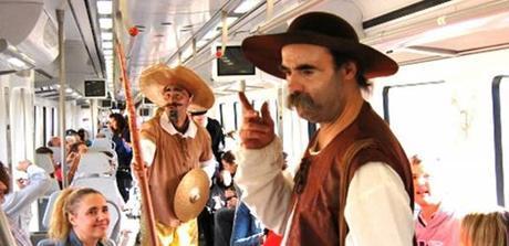 Tren de Cervantes (Foto Turismo Madrid)