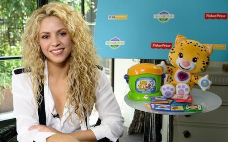 Shakira lanzará una aplicación para ayudar en la educación de los niños