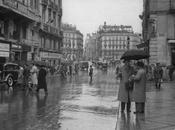Fotos antiguas Madrid: Llueve sobre mojado