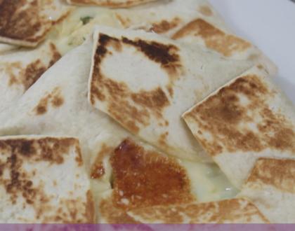 Wraps de pollo, deliciosos y fáciles de hacer