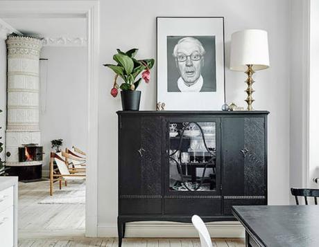 Mobiliario negro de anticuario en estilo n rdico paperblog for Mobiliario nordico