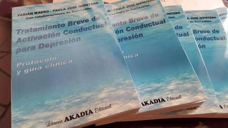Fabián Maero y Paula José, publican el libro Tratamiento Breve de Activación Conductual para la Depresión