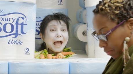 Un supermercado asusta a sus clientes por Halloween