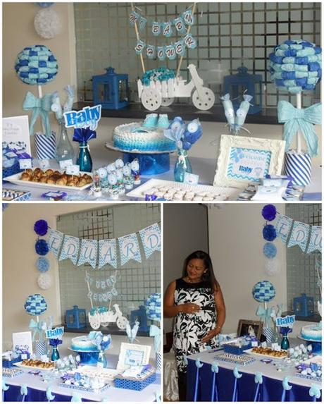 Baby Shower Temas Niño ~ Decoraci�n baby shower ni�o quot eduardo paper