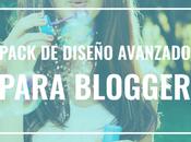 Novedades Packs Diseño Profesional para Blogger