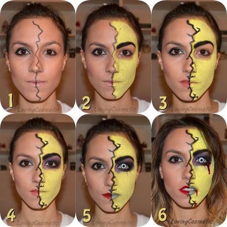 Caracterización Halloween , Tutorial Zombie , Maquillaje paso a paso.