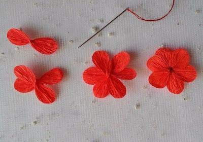 Flores De Papel Crepe Para Dia De Muertos Como Hacer Papel Picado