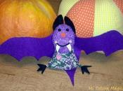 Murcielago Halloween: tutorial patrones...