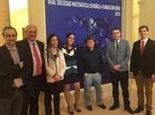 Entrega premios Vicente Caselles (Fundación BBVA/ RSME) Medallas RSME