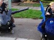 padre diseña increíbles disfraces adaptados para niños sillas ruedas