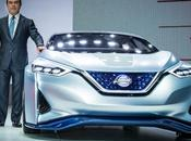 Prototipo Nissan IDS: visión para futuro vehículos.