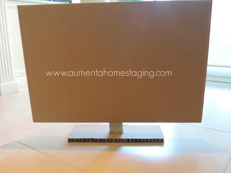 tv cartón
