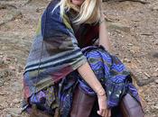 Street style inspiration; boho dress fall.-